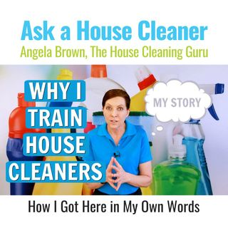 Why I Train House Cleaners - My Story (Angela Brown)