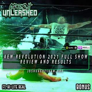 AEW Revolution 2021 Full Show Review: Christian Cage Is In AEW! Exploding Barbed Wire Death Match! | Ft. Hi-Lite Real