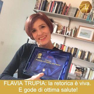 """""""La retorica è viva, e gode di ottima salute!"""" con Flavia Trupia   🎧🇮🇹"""