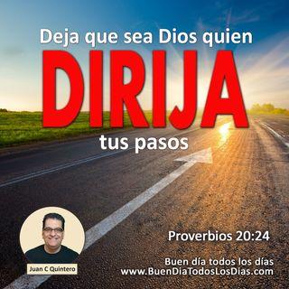 Qué Dios dirija tus pasos