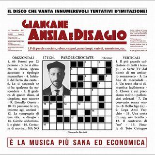 Café Bleu - Ansia e Disagio, il nuovo disco di Giancane!