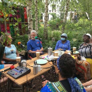 Back to nature live from the Curve Garden June 21