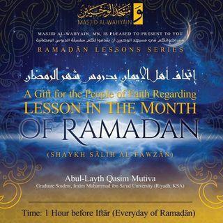 A Gift to the People of Faith Sh. Fawzān