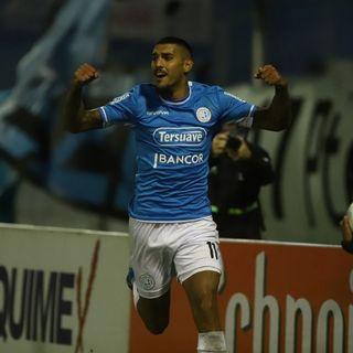 Gol de Belgrano: Adrián Balboa 2-1