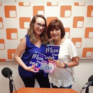 """Caro Saracho, autora del libro """"Mesa para una"""" te dirá que debes hacer antes de buscar pareja."""