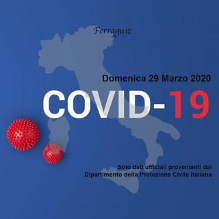Dati 29 Marzo 2020