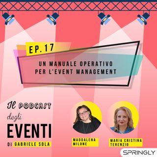 Un manuale operativo per l'event management