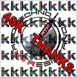 40K THANKS Techno Old-Neu School Vinyls Selection by Gian Mario Avena