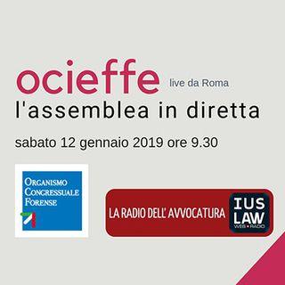 Assemblea OCF 11-12 gennaio 2019 - Sabato 12 gennaio 2019