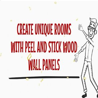 Create Unique Rooms With Peel And Stick Wood Wall Panels