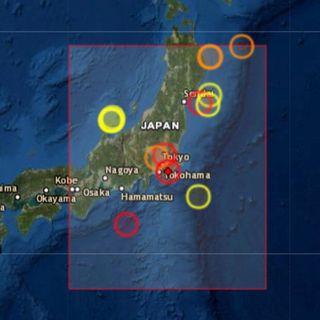 Terremoto en Japón 6.1 grados  7 de Octubre
