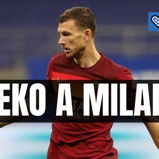Calciomercato, Dzeko in viaggio per Milano: oggi visite e firma