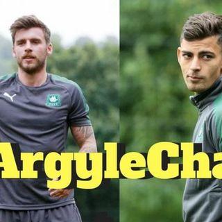 Can Ruben Lameiras and Graham carey play in the same Plymouth Argyle side?