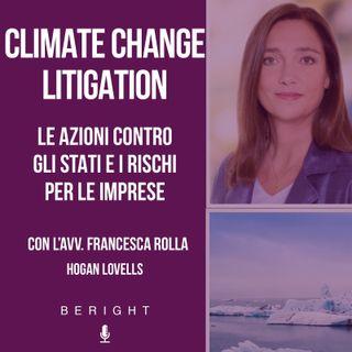 III app. - Climate change litigation, le azioni contro gli stati e i rischi per le imprese