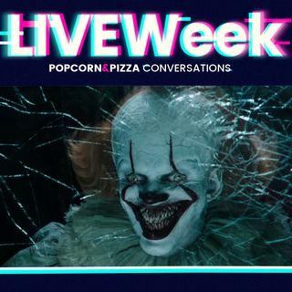 LiveWEEK #34 - Il nuovo trailer di IT CAPITOLO DUE e le prime news dal Comic-Con