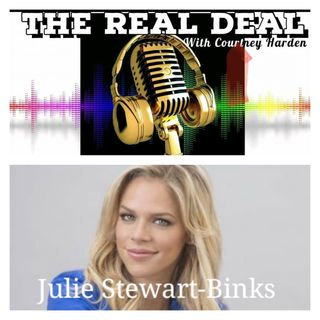 EPISODE 39 - FRIDAY AFTERNOON CONVO with JULIE STEWART-BINKS