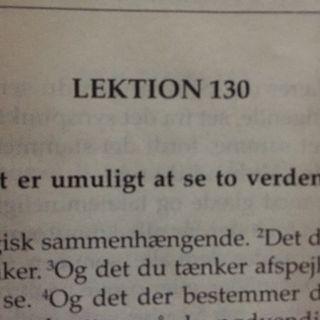 Lektion 130