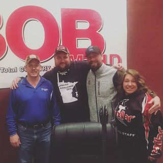 The 4 Outdoorsmen Tony Peterson, Scott Seibert and Shelly Holland