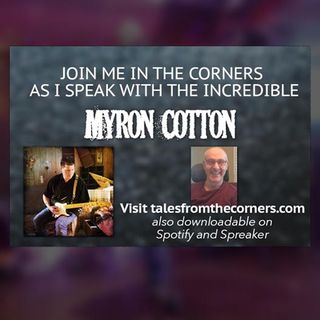 Myron Cotton - Singer/Songwriter/Musician