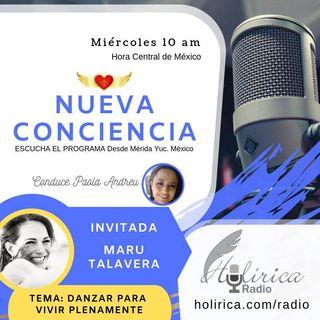 Nueva Conciencia entrevista con Maru Talavera