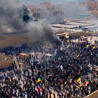 Ataque ayer a Embajada de EEUU en Irak