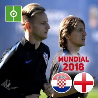 Revive el partido: Croacia - Inglaterra