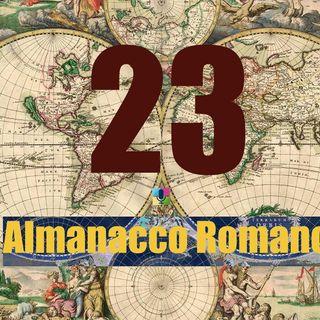 Almanacco romano - 23 novembre