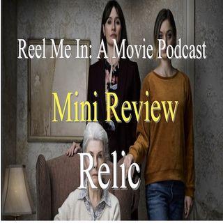 Mini Review: Relic
