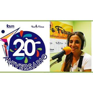 20 ANIVERSARIO FORUM: Myriam Tornero G. Terapeuta holística, escritora y coach