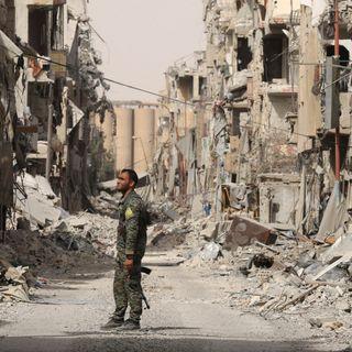 Il deserto di Raqqa