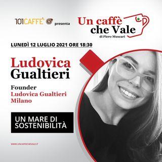 Ludovica Gualtieri: Un mare di sostenibilità