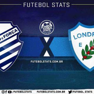 CSA 4 x 1 Londrina - Campeonato Brasileiro Série B 2018 rodada 25 narração toni lima radio pajuçara fm