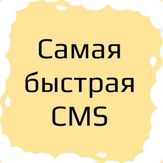 Какая CMS (ЦМС) система самая быстрая для создания сайта. Самая быстрая CMS.