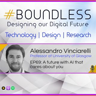 EP69: Alessandro Vinciarelli, Professor at University of Glasgow: A future with AI that cares about you