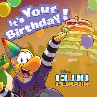 Club Penguin: It's your birthday!
