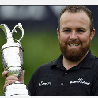 Shane Lowry Wins the Claret Jug
