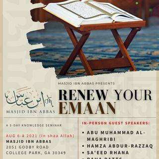 Renew Your Emaan