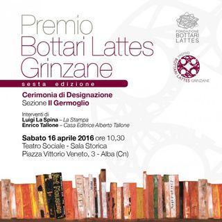 """Valter Boggione """"Premio Bottari Lattes Grinzane"""""""