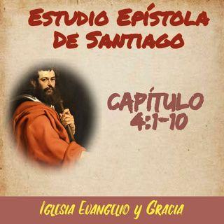 Santiago 4.1-10