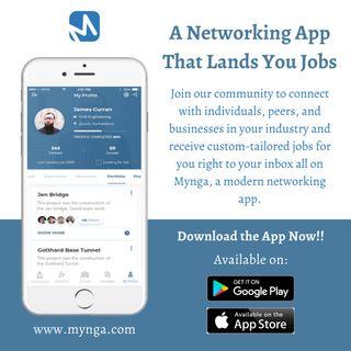 Mynga: A Job Networking App