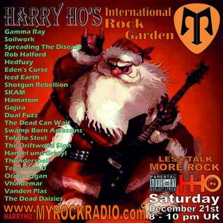 Harry Ho's intern. Rock Garden 21.12.2019