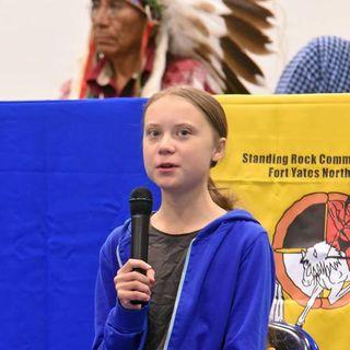 Greta Thunberg Visits Pine Ridge Indian Reservation