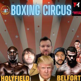 Ep. 6: Boxing Circus: Holyfield vs. Belfort, Oscar Valdez and PEDs