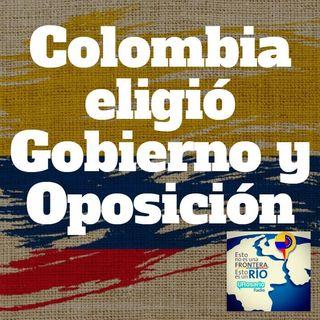 Colombia eligió Gobierno y oposición