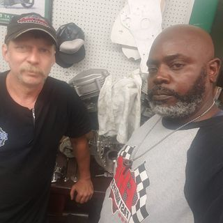 Live With GREG DAHL THE BULDER OF THE FASEST HARLEY BAGGER IN THE WORLD