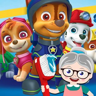 Paw Patrol - Toothbrush Stories