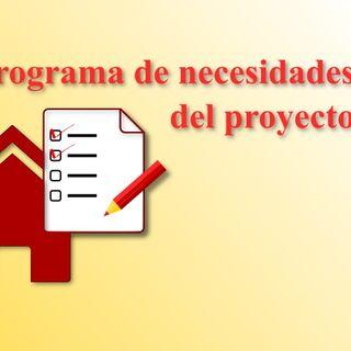 El Programa de necesidades