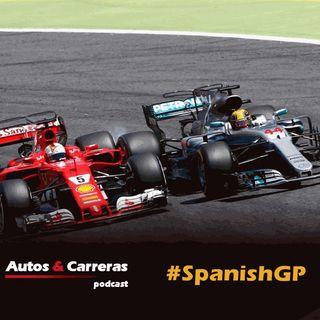6 pts entre Vettel y Hamilton después del #SpanishGP