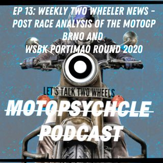 Weekly Two Wheeler News - Post Race Analysis of MotoGp Brno and Portimao 2020 Round I #Episode13