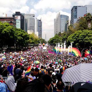 Se realiza la marcha número 41 del orgullo gay en la Ciudad de México